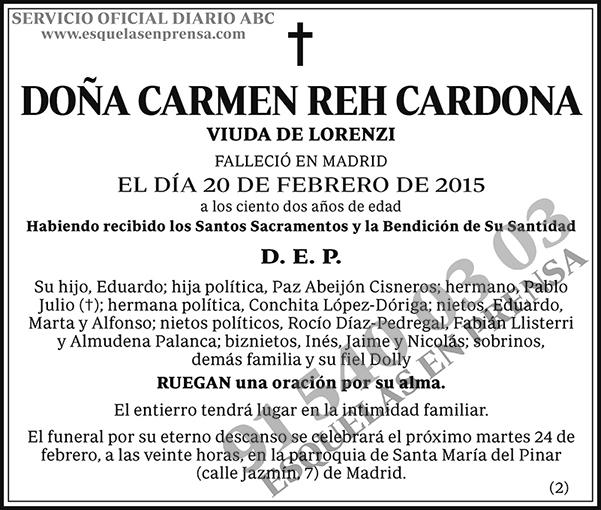 Carmen Reh Cardona